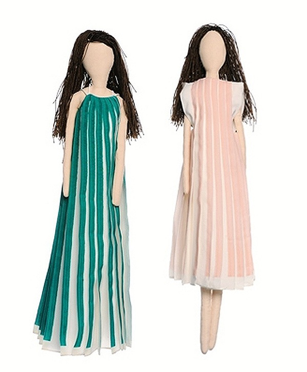Chloe Dolls For UNICEF's Frimousses Designers for Darfur. #chloe