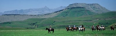 Khotsotrails, Pony rides through Lesotho - was amazing!