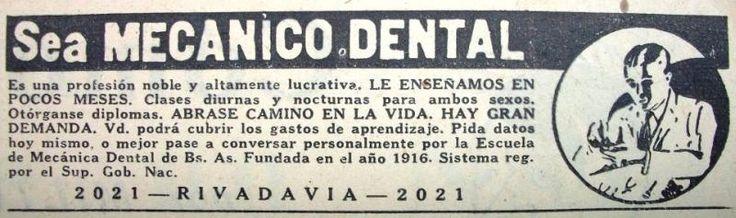 Escuela de Mecánico Dental 1935