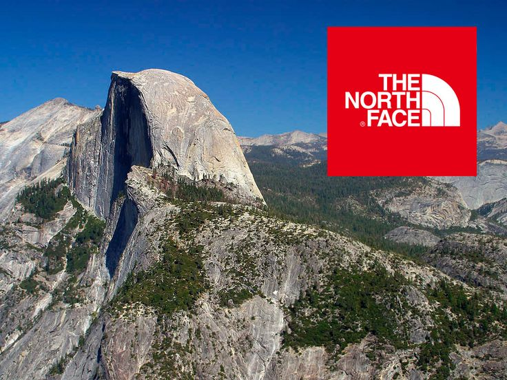 the north face and half dome LOGO / Logo Design