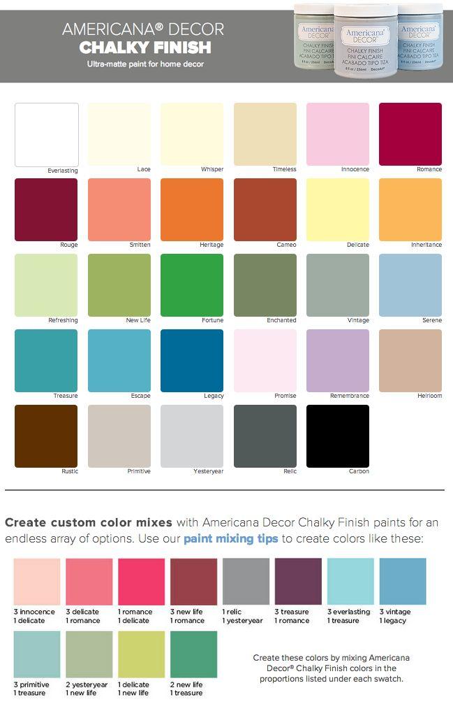 25 best ideas about chalk paint colors on pinterest