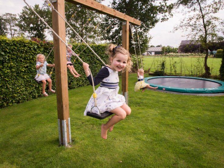 Kinderschaukel für Garten – Tolle Ideen mit Anleitung zum Selbermachen