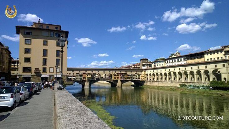 Мост Понте Веккьо, Флоренция, Италия.