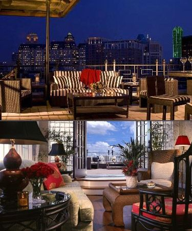 Penthouse Suite at The Stoneleigh Hotel and Spa, Dallas