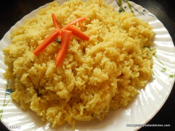 #Rice Special dishes #Biryani Dishes http://yummyindiankitchen.com/dal-khichdi-veg-rice-recipe/