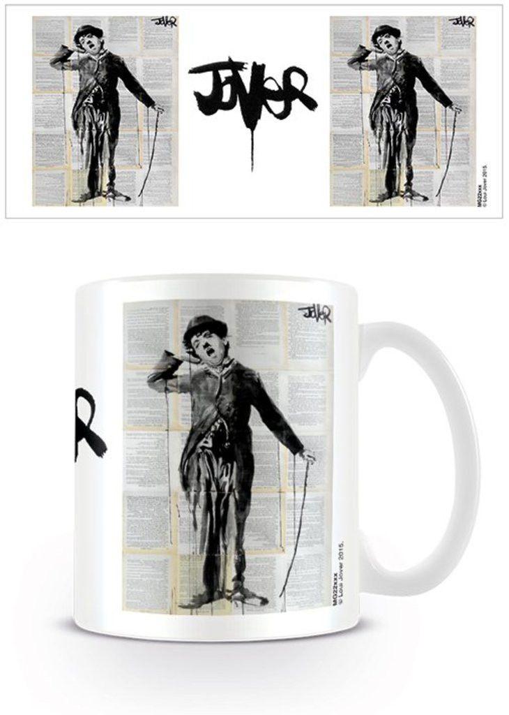 Charlie Chaplin - Loui Jover - Little Tramp - Ceramic Coffee Mug