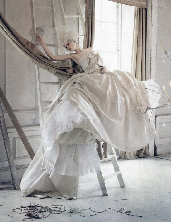 Stella Tennant in 'Lady Grey' by Tim Walker for Vogue Italia March 2010 (couture supplement)