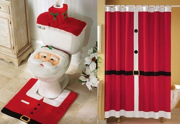 Cuando decoramos nuestra casa por la llegada de la Navidad , pensamos en todos lo ambientes del hogar dejando de lado a veces los cuartos de baño, por eso hoy te presentamos accesorios que te pueden ayudar a decorar tu baño e