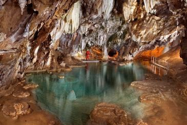 Gorgeous chain of caves and caverns in the mountains of Huelva in southern Spain. A must see when you come to Spain!
