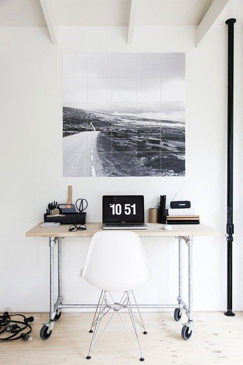 119 besten workspace inspiration bilder auf pinterest for Minimalismus haus tour