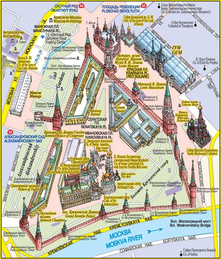 d day tourist map