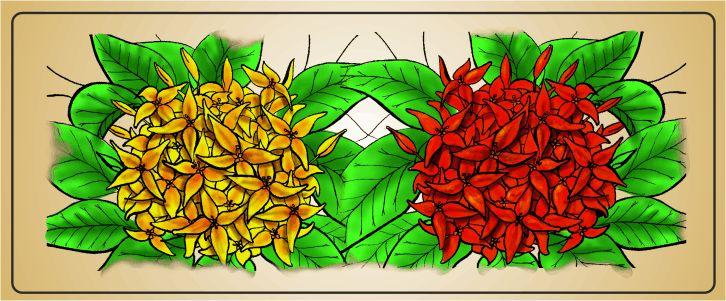 Spong Design | Faya lobi en andere tropische bloemen