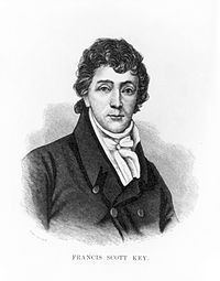 "August 1, 1779: Francis Scott Key, author of the ""Star Spangled Banner"", was born."