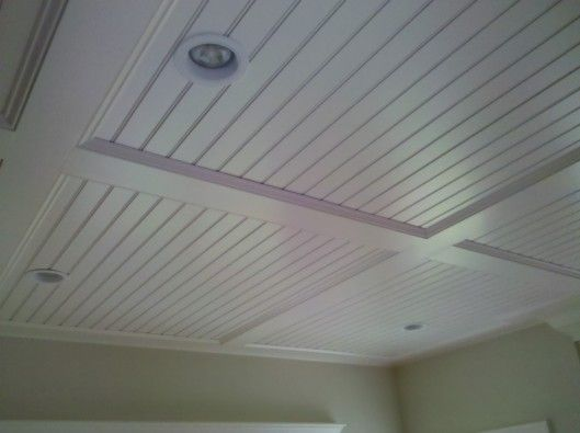 Beadboard Ceiling Panels For The Home Pinterest