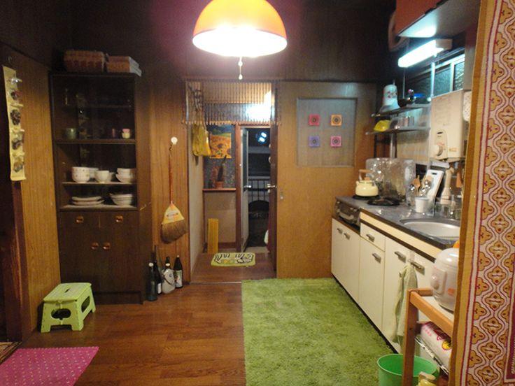 『上京ものがたり』貧乏でも可愛く暮らす菜都美の部屋   CINEmadori シネマドリ   映画と間取りの素敵なつながり