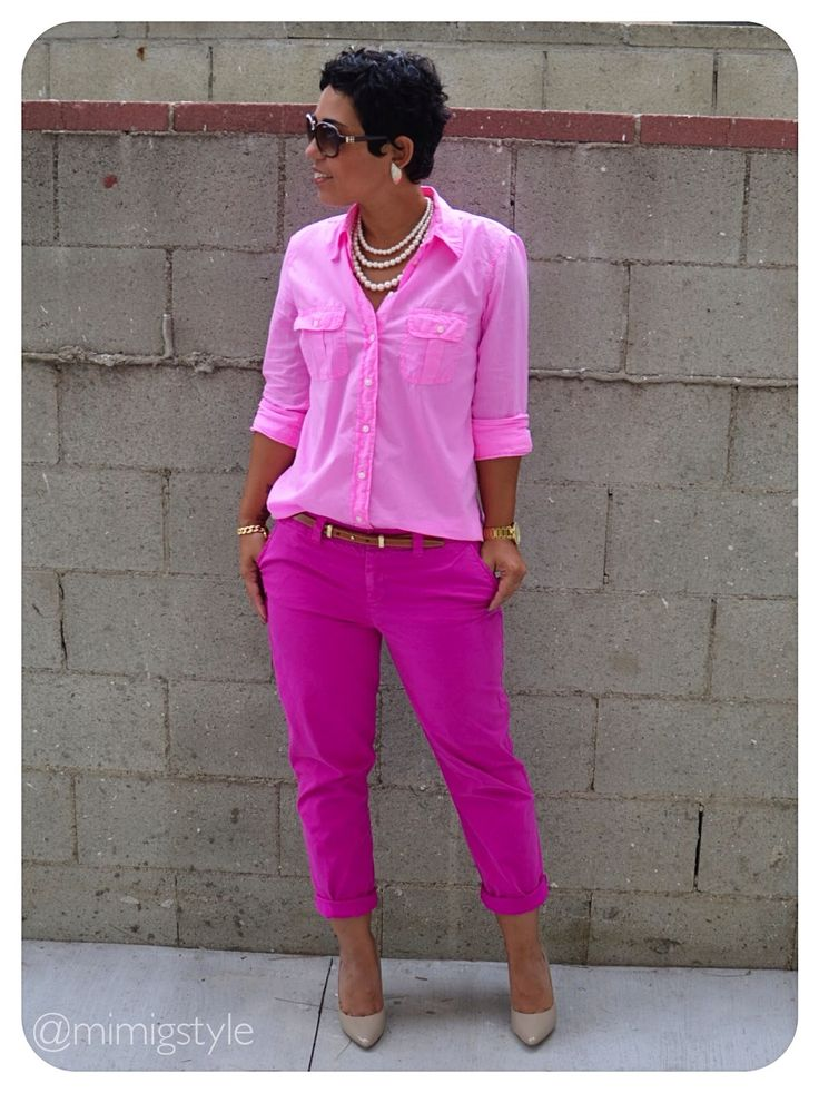 Shades of pink. Monochrome.