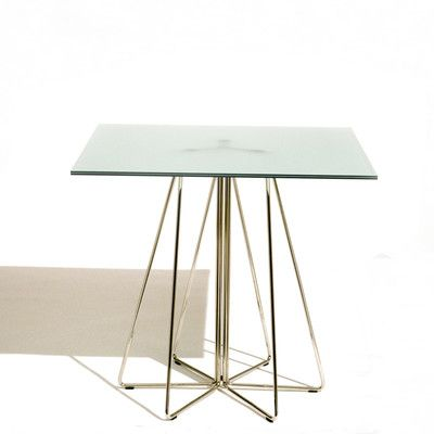 Knoll ® PaperClip Medium Square Café Table | AllModern