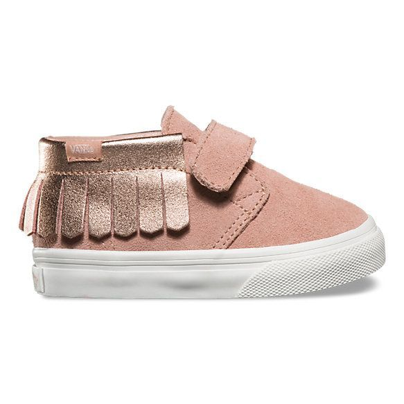 58bd75500a4 Toddlers Metallic Chukka V Moc | Shop | Shoes for little toes | Vans ...