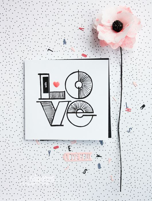 BerryCloud. Creo, ergo sum: With Love / Card