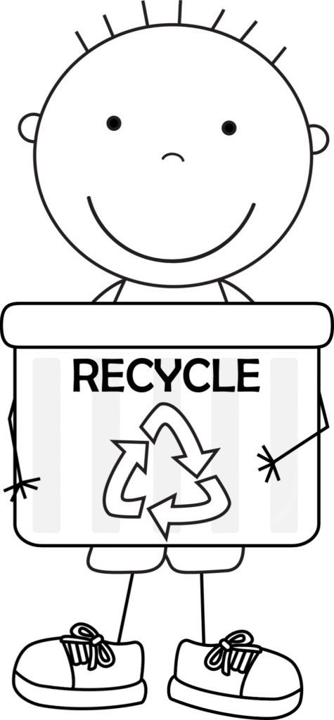 kid color pages Earth Day for boys: