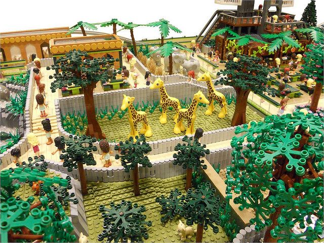 LEGO Friends: Animal Park | Lego friends, Lego animals ...