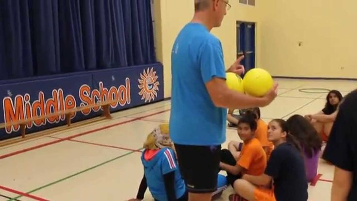 """Island Ball from """"Worlds Greatest Dodgeball Games"""" Follow this link to view the game description on the CIRA website: http://www.ciraontario.com/islands"""