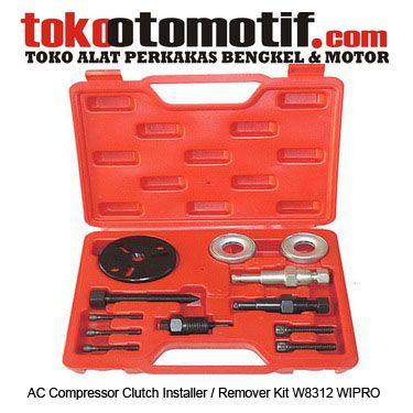 Kode : 02000130498 Nama : AC Compressor Cluth Installer / Remover Kit Merk : WIPRO Tipe : W8312 Status : Siap Berat Kirim : 3 kg
