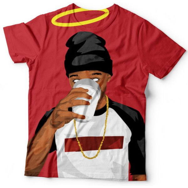 Lil Snupe T Shirt ($40) ❤ liked on Polyvore featuring tops, t-shirts, t shirts, checked shirt, red tee, checkered top and animal tees