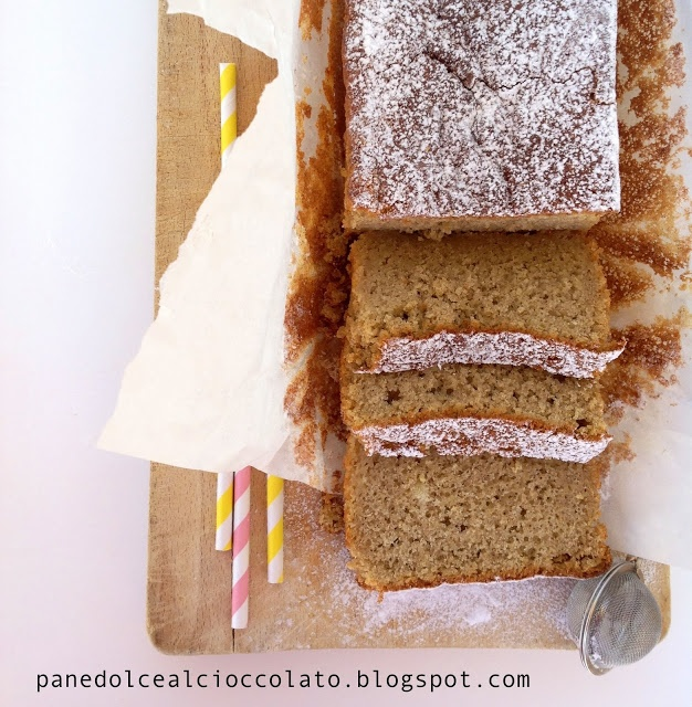 cake al grano saraceno con yogurt e ananas gluten free | PANEDOLCEALCIOCCOLATO