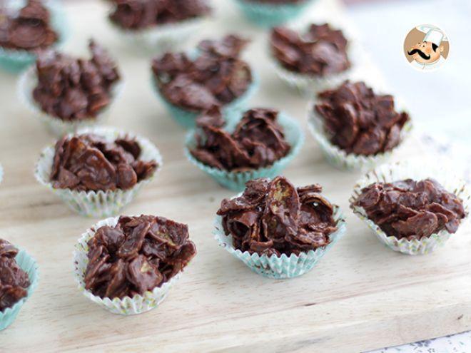 Ricetta Dessert : Rose del deserto al cioccolato - ricetta veloce da Petitchef_IT