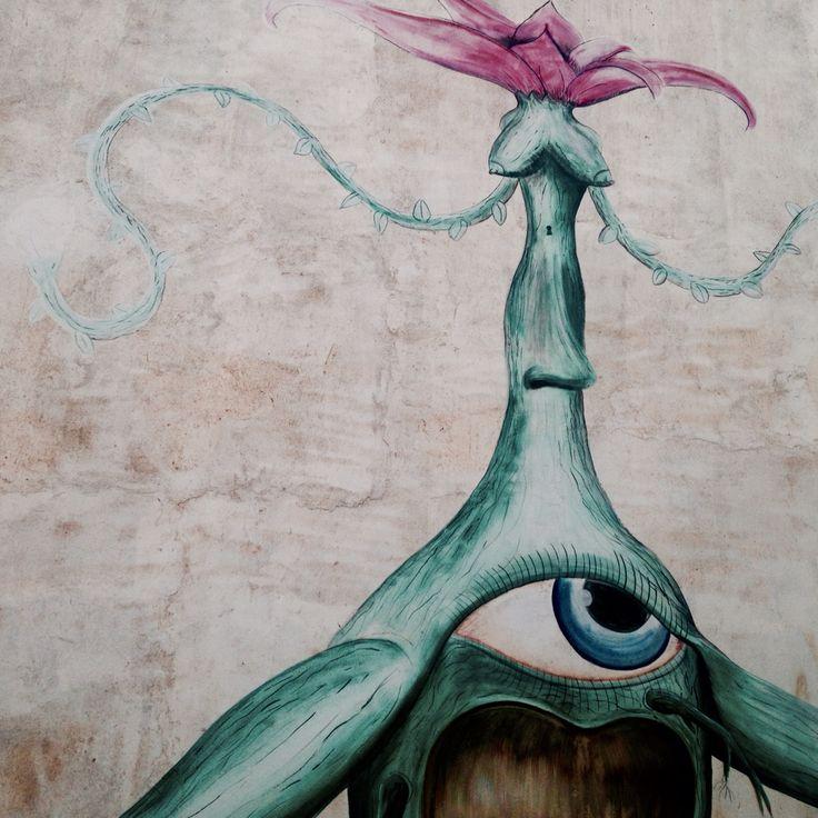 Street art pichilemu - @xxandresenxx photography Laura Andresen