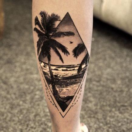 Best Tattoo Compass Flower Style Ideas