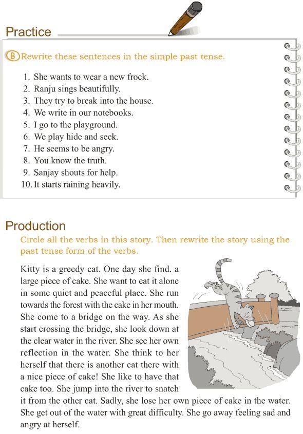 Grade 3 Grammar Lesson 9 Verbs - the simple past tense - Good Grammar
