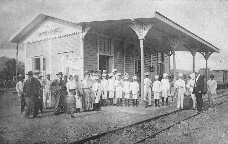 Estación de ferrocarril de Sabana Grande (c1927) Tomado de Puerto Rico Historic Building Drawings Society