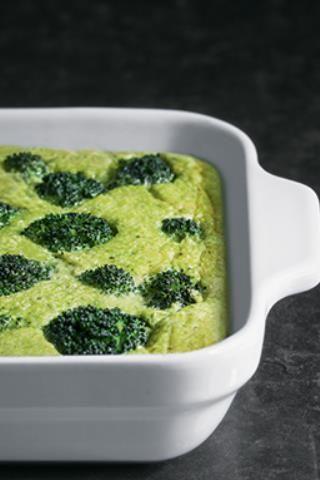 Flan aux brocolis au micro-ondes