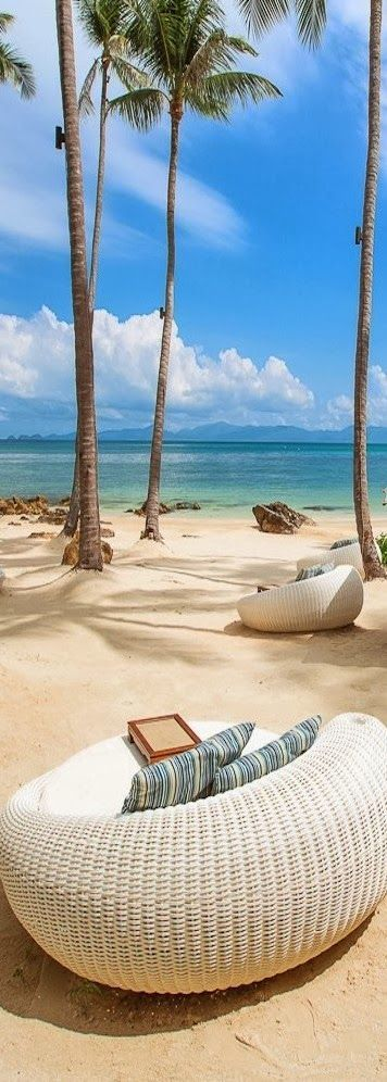 Koh Samui, Thailand - One Of My Favorite Places In The World - I Want To Go There Now And Dig My Toes In The Sand.