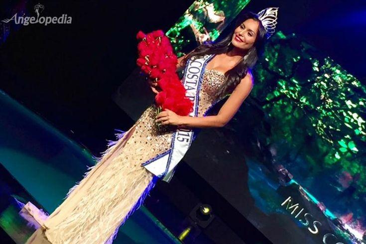 Brenda Castro crowned Miss Costa Rica 2015