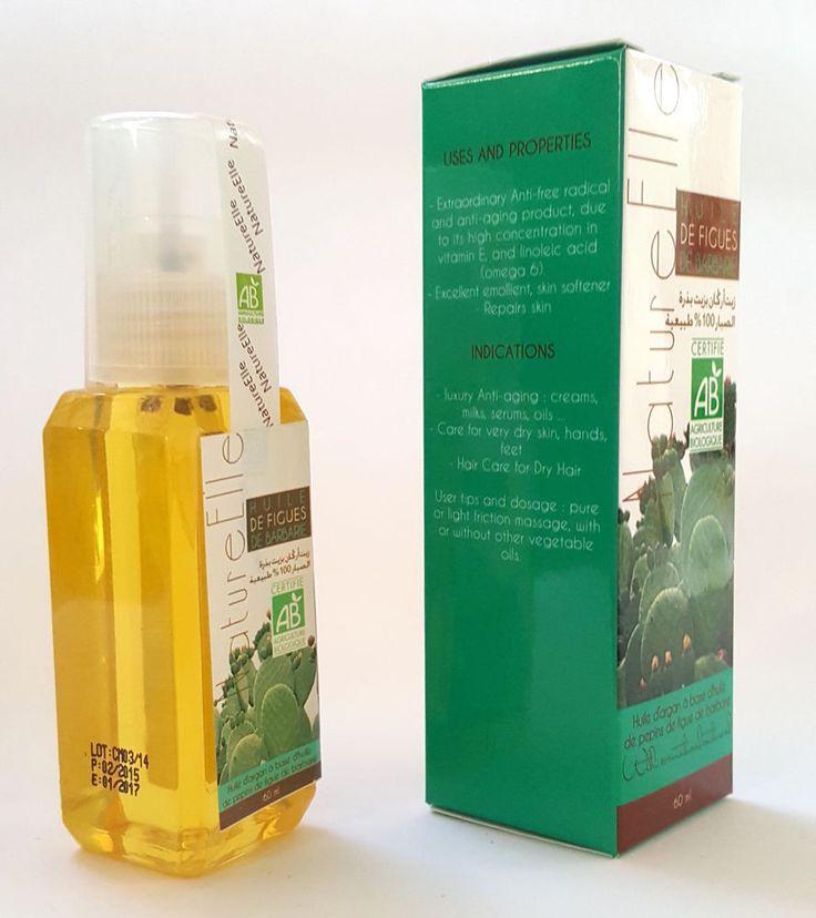 Olio di Argan a base di Olio di Semi di Fico d India - Cactus - 60ml