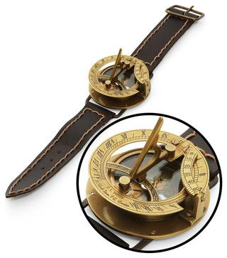 Navitron Steampunk Wrist Compass and Sundial eclectic