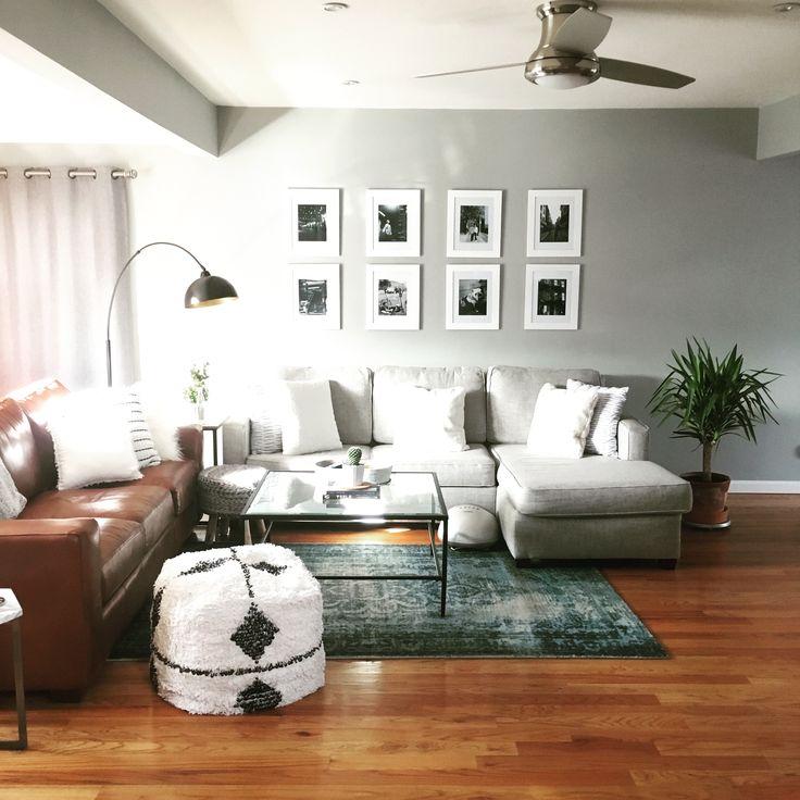 pier 1 living room rugs%0A My living room  west elm Henry sofa  west elm arabesque rub  vintage  Persian