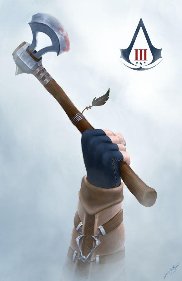 AC3 by ChuchuaN   Assassin's Creed   Pinterest   Art