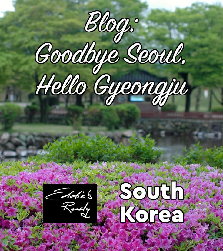 A blog about traveling from Seoul to Gyeongju Historic Areas including Daereungwon Tomb Complex and Cheomseongdae Observatory, as well as Seongdong Market.
