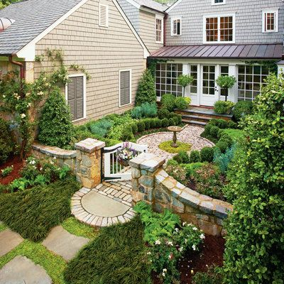 Cottage Garden Courtyard - Classic Courtyards - Southern Living