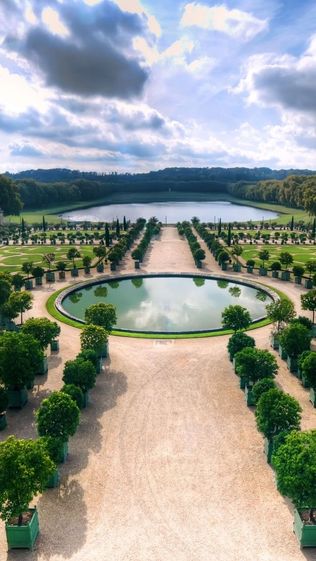 Versaille Gardens  France.  This Virgo loooved the symmetry of the gardens.