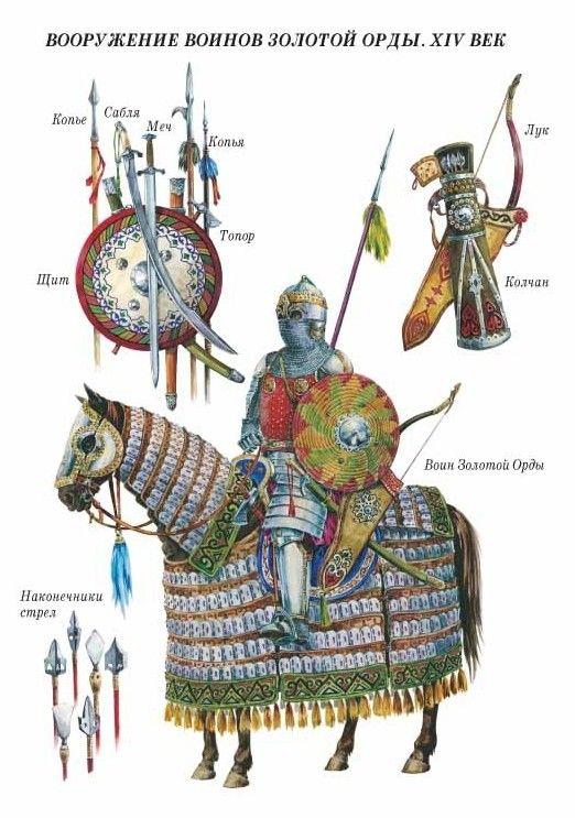 Golden Horde Heavy Cavalryman