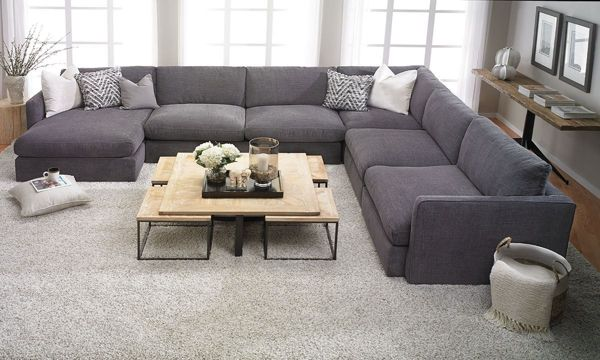 Lincoln Park Handmade Modular Sectional With Left Facing Chaise In 2020 Furniture Cheap Living Room Sets Living Room Furniture