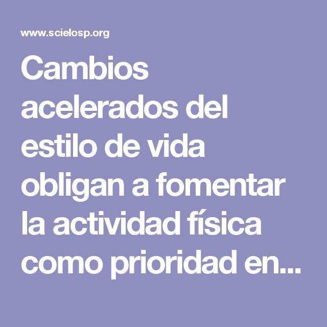 Cambios acelerados del estilo de vida obligan a fomentar la actividad física como prioridad en la Región de las Américas