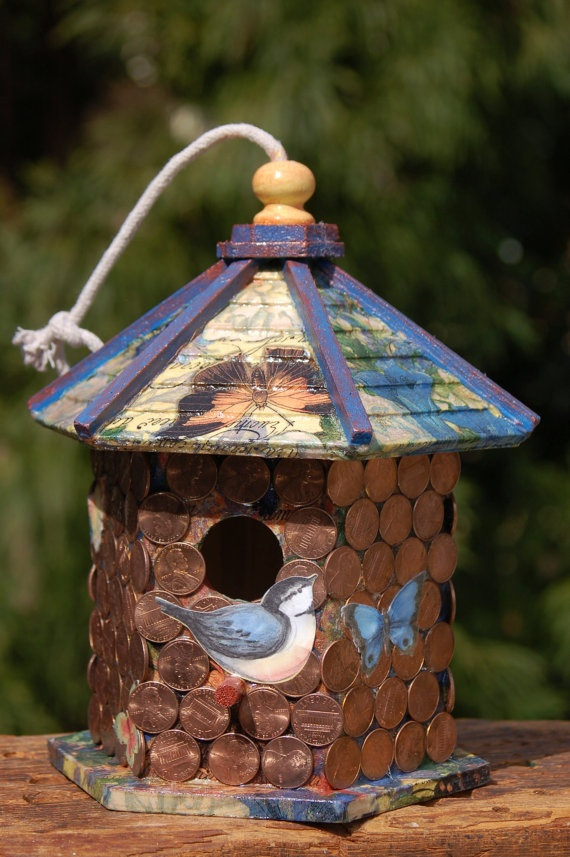 Crafts Ideas, Heavens Birdhouses, Diy Crafts, Birdhouses Feeding ...