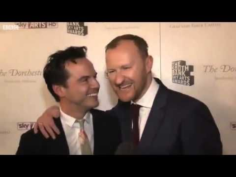 South Bank Sky Arts Awards 2012 - Andrew Scott and Mark Gatiss