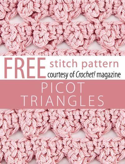 Crochet Stitches Picot : Crochet Stitches Patterns, Patterns Examples, Stitch Patterns